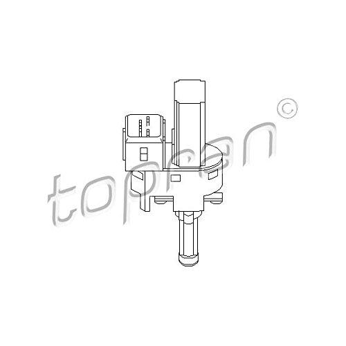 Topran Interrupteur pour Utilisation avec embrayage (Gra), 302 698