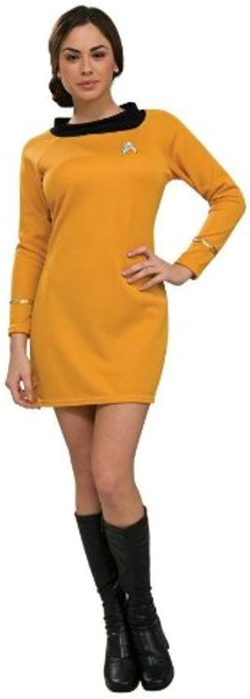 Costumes For All Occasions Ru889059Xs Star Trek Classic Gld Dress Xs
