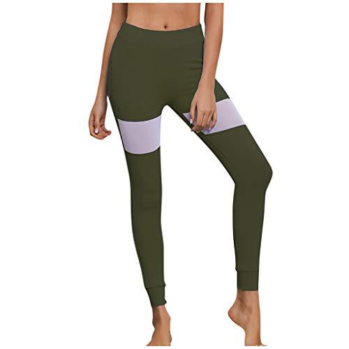 OPALLEY Sport Leggings Damen Yogahosen Leggins Hohe Taille Fitnesshose Sporthosen mit Taschen
