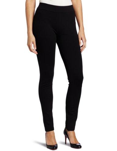 NYDJ Women's Petite Jodie Basic Ponte Pull On Legging, Black, 6P