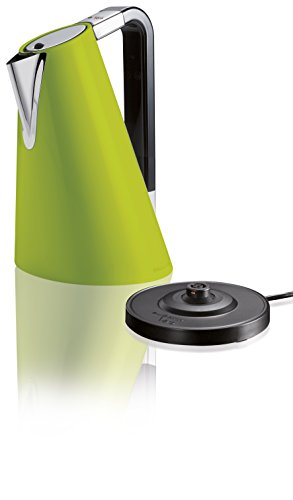 BUGATTI 14-SVERACM, Bollitore elettrico vera easy, Verde, Capacità 1.7 l, 1830 W