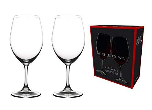 [正規品]RIEDELリーデル赤ワイングラスペアセットオヴァチュアレッドワイン350ml6408/00