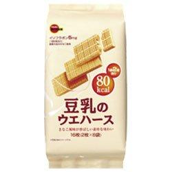 ブルボン 豆乳のウエハース 2枚×8袋×12(6×2)個入