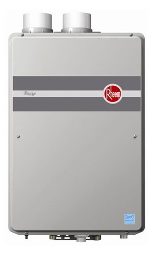 Product Image of the Rheem RTGH-84DVLP Indoor Direct Vent Liquid Propane Condensing Tankless Water Heater Low Nox