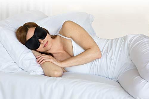 Bucky 40 Blinks No Pressure Beauty & Travel Eye Masks, Black Dots