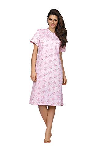 Comtessa Damen Nachthemd Farbe: Rose Gr. 40/42