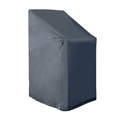EUGAD Gartenmöbel Schutzhülle Abdeckhaube für Stuhl Gartenstühle Gewebeplane Plane Hülle 600D Oxford Wasserdicht 0061FCZ