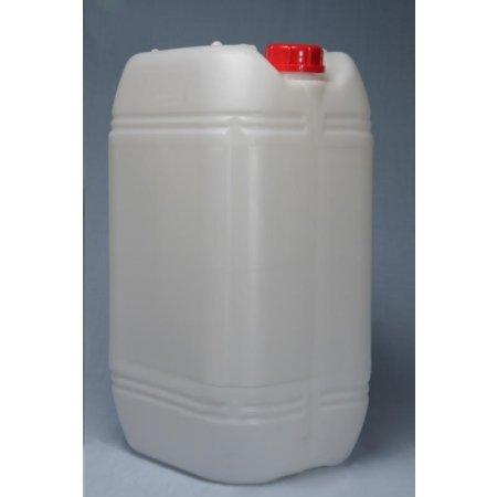 HELGUEFER - Bidón 25 litros Rectangular Apilable-Apto Uso alimentario.