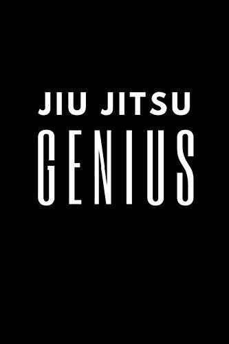 Jiu jitsu Genius: Training Log Book. Session Goals, Techniques, and Specific Training Notes.