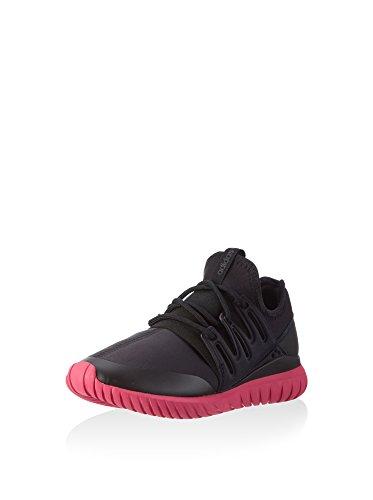 Adidas Tubular Radial Sneaker da uomo, Nero (Nero ), 39 1/3 EU