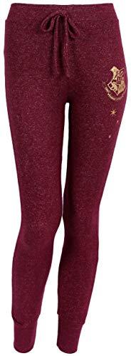 Pantalones Melange de Color Burdeos Harry Potter XS