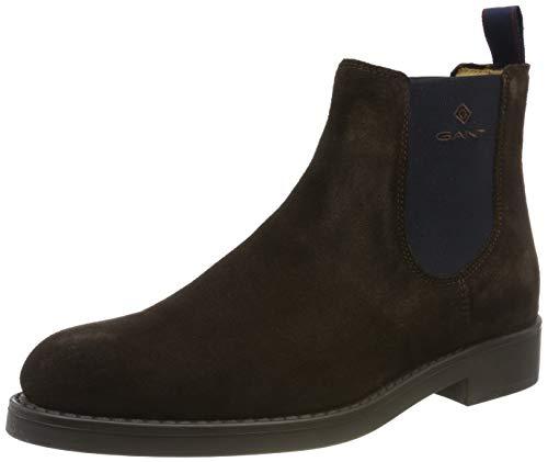 GANT Footwear Herren Oscar Chelsea Boots, Braun (Dark Brown G46), 42 EU