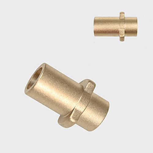 Adaptador de Cañón de Espuma Rosca Hembra de Botella Conector de Cobre, Lanza de Espuma para Nieve Compatible con Coche Pistola de Lavadora de Alta Presión Karcher K Series K2/ K3/ K4/ K5/ K6/