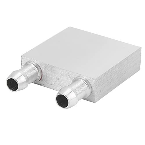 ASHATA Cabezal Enfriador de líquido Semiconductor Refrigeración Radiador Resistencia al Desgaste