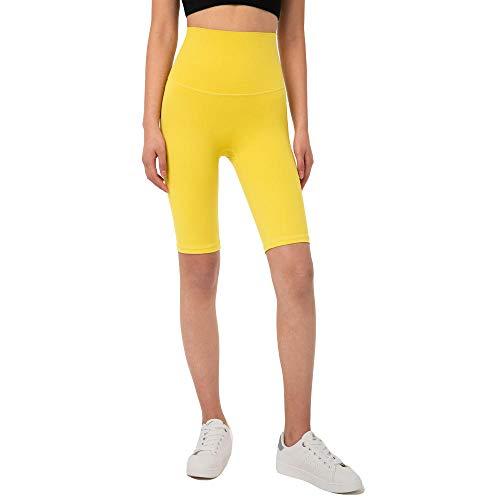 2020 Nuovo Doppio Lato Jin Skin-friendly Nudo Fitness Pantaloni Vita Alta Pesca Hip Cinque Punto Stretti Pantaloncini Yoga