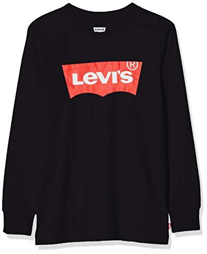 Levi's Kids Lvb L/S Batwing Tee Maglia a maniche lunghe Bambino Black 14 anni