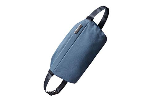 Bellroy Sling Bag (Unisex Compact Crossbody Bag, Multiple Compartments, Water-resistant Materials, Holds Phone, Camera & Water Bottle) - Marine Blue