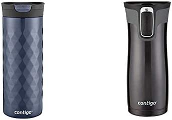 Contigo SNAPSEAL Kenton Vacuum Insulated Stainless Steel Travel Mug 20 oz Serenity Autoseal product image