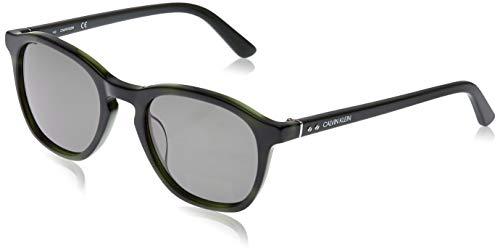 Calvin Klein EYEWEAR CK18505S gafas de sol, GREEN/BLUE, 5221 para Hombre