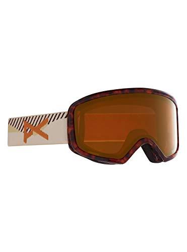 Anon Damen Deringer MFI Snowboard Brille, Tort 3/Perceive Sunny Bronze