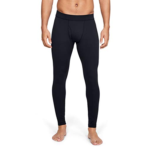 Under Armour Men's Packaged Base 2.0 Leggings , Black (001)/Pitch Gray , Large