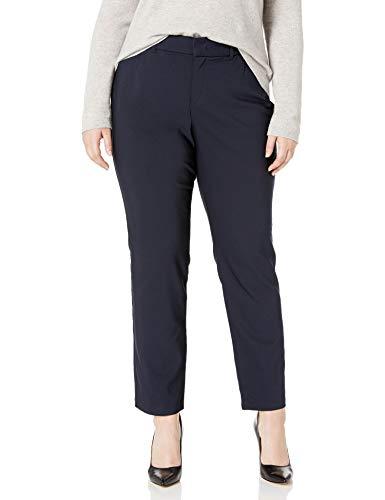Gloria Vanderbilt Women's Haven Straight Trouser Pant, midnight affair, 12