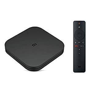 Mi TV Box S 4K UHD Streaming Media Player Conexión inalámbrica Estable rápida Audio Premium Android 8.1