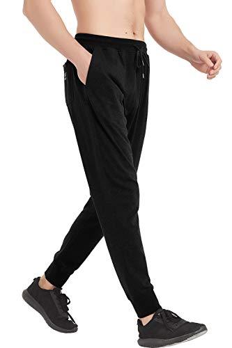 Akula Men's Comfortable Slim Fit Running Pants Casual Jogger SweatpantsJogger Pant Elastic Waist,S