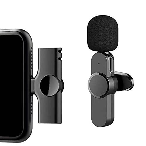yi wan Micrófono portátil TYPE-C, micrófono de grabación de condensador con silencio y eco para ordenador portátil PC Mac Phone