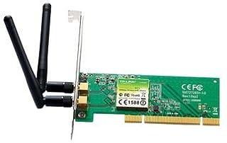 TP-Link TL-WN851ND - Adaptador PCI (300 Mbps, 2.4 GHz, 802.11n/g/b, 2 antenas desmontables) (B0019EMF2M) | Amazon price tracker / tracking, Amazon price history charts, Amazon price watches, Amazon price drop alerts