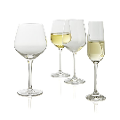 Nattie White Wine Glasses, Set of 8 | Crate and Barrel
