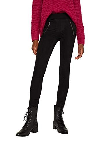 ESPRIT Damen 119EE1B033 Hose, Schwarz (Black 001), W/L30(Herstellergröße: 36/30)