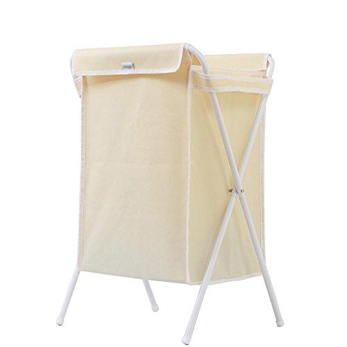 Xuan - Worth Another Panier Blanc Beige Sale de Panier de Stockage matériel de Tissu d'Oxford de Panier Beige avec la Couverture