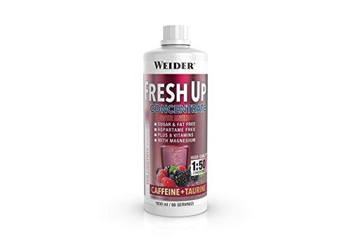Weider Fresh Up Getränkekonzentrat, Energy-Wildberry, zuckerfrei mit Vitaminen und Mineralstoffen, 1 Liter