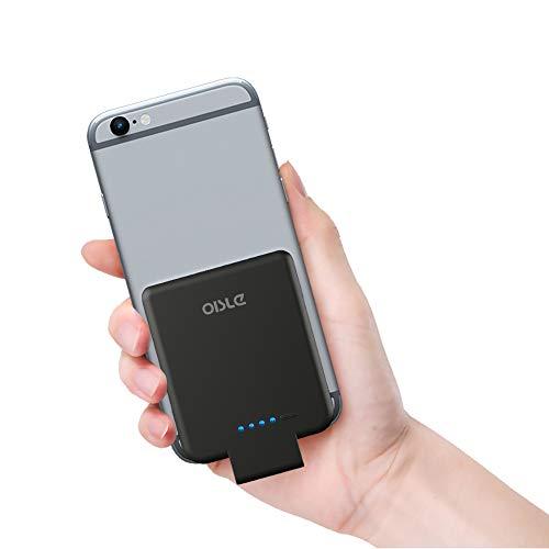 OISLE Portable Charger Mini Power Bank PowerCore 2200mAh Wireless External Backup Battery Pack for iPhone 12/12 mini/12pro/12pro Max 5(s)/6(s)/7(p)/8(p)/X -Black