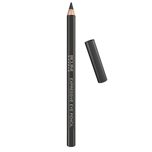 BIGUINE MAKEUP PARIS - Crayon Yeux Khôl Expressive Eye Pencil - Maquillage Contour des Yeux - Tracé Précision - Texture Crémeuse - Gris Acier - 1,5 g - GRIS ACIER