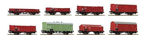 Roco 44001 H0 8er-Set Güterwagen der CSD