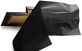 VViViD XPO Gloss Black Chevy Bowtie Logo Wrap Kit (2 Rolls (11.8 Inches x 4 Inches))