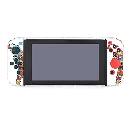 Funda para Nintendo Switch Central y Sudamérica Patchwork Map 5 piezas Funda...