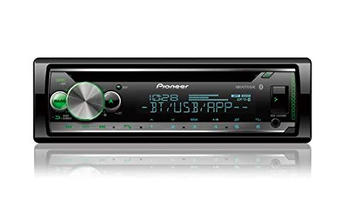 Pioneer DEH-S5200BT CD Receiver with Pioneer Smart Sync App Compatibility, MIXTRAX, Built-in Bluetooth, and Color Customization