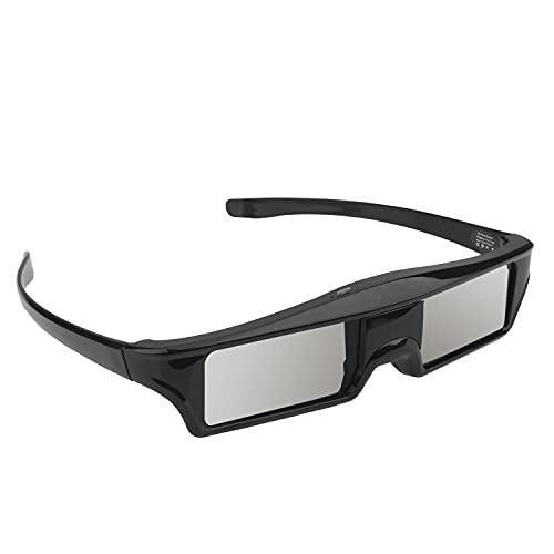 Wiederaufladbare 3D-Active-Shutter-Brille, 3D-Brille Blue Tooth für Epson 3LCD-Projektor 5700,5210,5300,5600,9300 / Samsung 3D-Fernseher von Panasonic, 3D-Brille mit USB-Aufladung