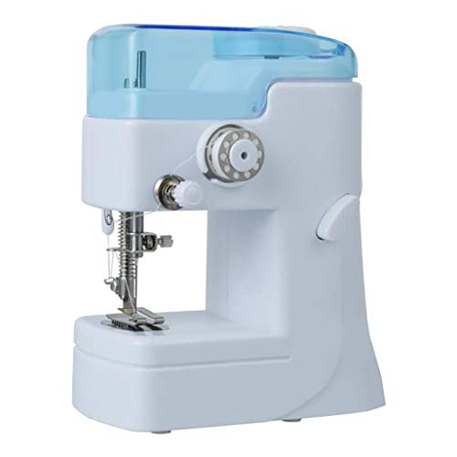 QIUUE Portable Single-Thread Sewing Machine - Mini Sewing Machine Best Sewing Machine for Beginners Best Gift, Making Crafts Sewing Clot (As Shown)