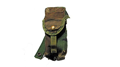 MOLLE M16A2 Double Mag Pouch Woodland Camo Previously Issued