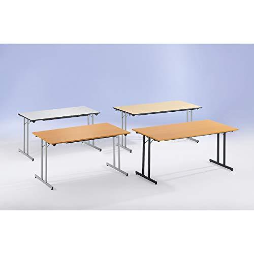 SODEMATUB TPMU168GA Table Pliante Gris/Aluminium 1600 x 80 mm