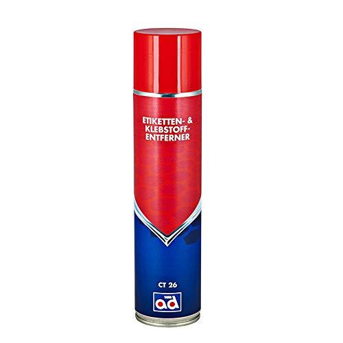 AD Chemie Etikettenentferner Ct 26 400Ml Lösen Von Vignetten Klebstoff Entferner Aufkleber Kleber Sticker Spray Entfernen Klebereste Etiketten Und Etikettenlöser Kunststoff Löser 41195975