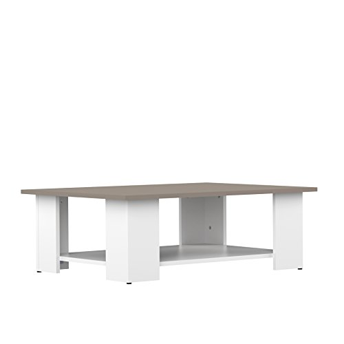 TemaHome Table Basse Blanc/Taupe 2082A2191X00