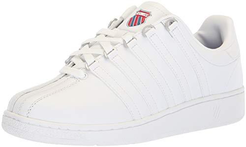 K-Swiss Herren VN HERI Sneaker, Weiß (White/Classic Blue/Ribbon Red 130), 41 EU
