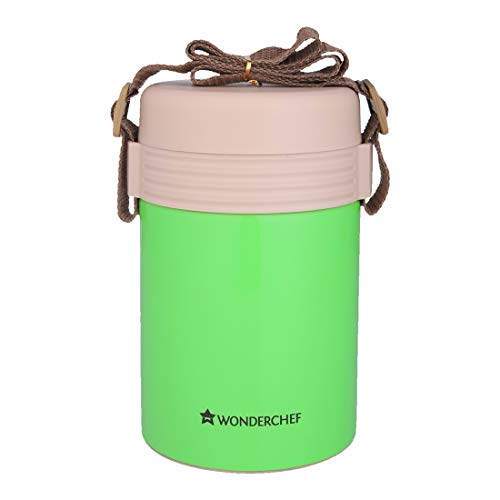 Wonderchef Magic Meal Stainless Steel Lunch Box, 1.5 l