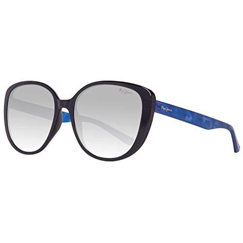 Pepe Jeans PJ7288C457 Sonnenbrille PJ7288 C4 Kella Schmetterling Sonnenbrille 57, Blau