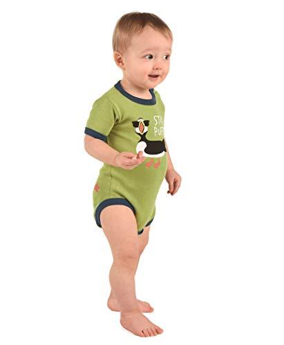 LazyOne Garçon Stud Puffin Body Bebe Vest 6 Months